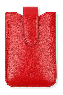 MULBERRY Glossy leather iPhone case