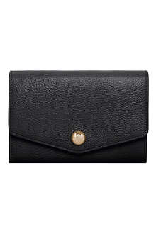 MULBERRY Domerivet glossy goat leather purse