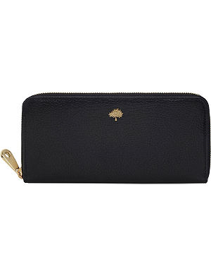 MULBERRY Tree zip-around wallet