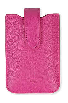 MULBERRY Glossy leather iphone cover