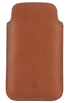 MULBERRY Natural leather iPhone 5 case