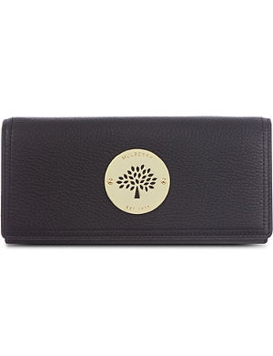 MULBERRY Daria spongy leather continental wallet
