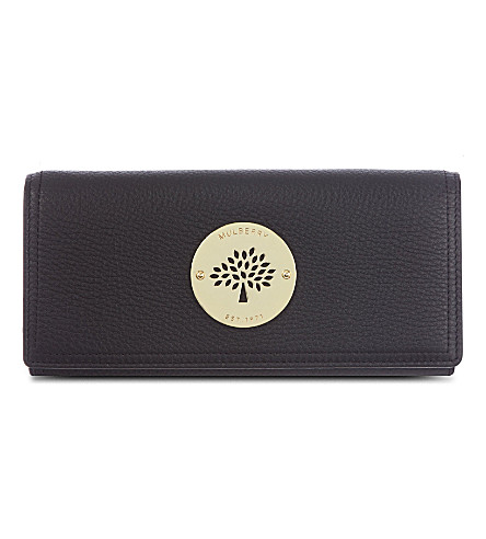MULBERRY Daria Continenetal wallet (Black