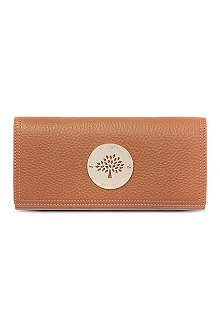 MULBERRY Daria spongy leather wallet