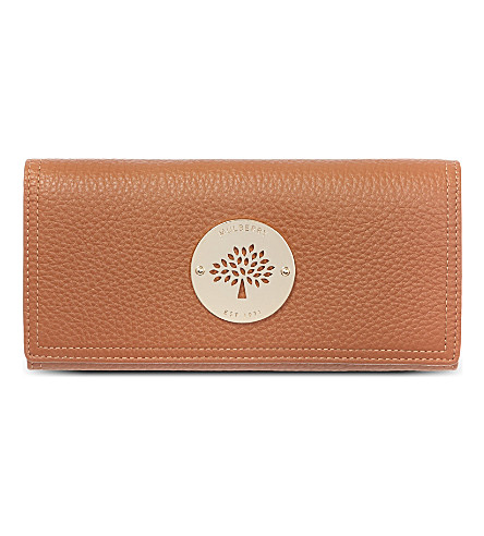 MULBERRY Daria Continental wallet (Oak