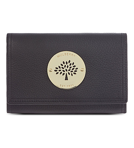 MULBERRY Daria French purse (Black