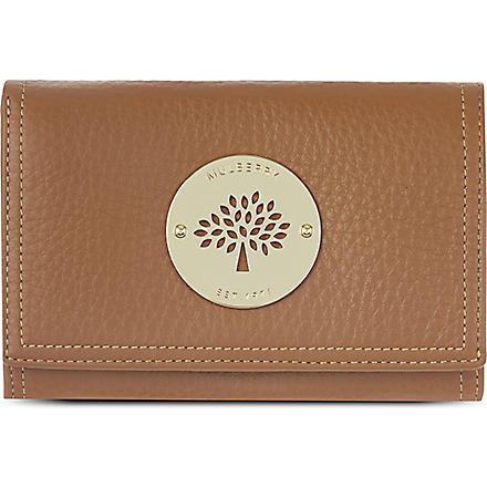 MULBERRY Daria French purse (Oak