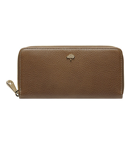 MULBERRY Tree Continental wallet (Oak