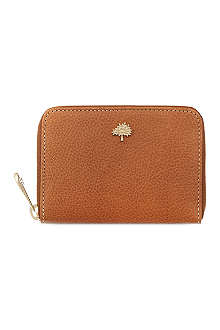 MULBERRY Tree zip-around natural vegetable leather purse