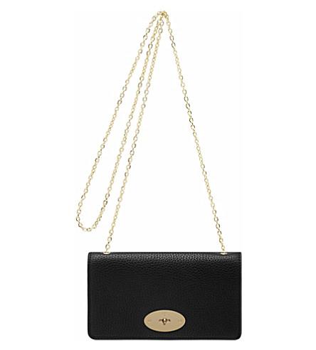 MULBERRY Soft grain grain leather clutch wallet (Black