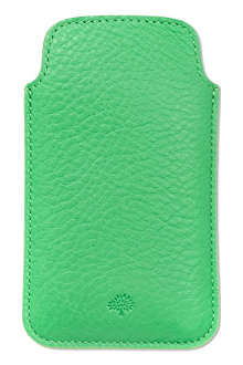 MULBERRY Leather iPhone 5 case