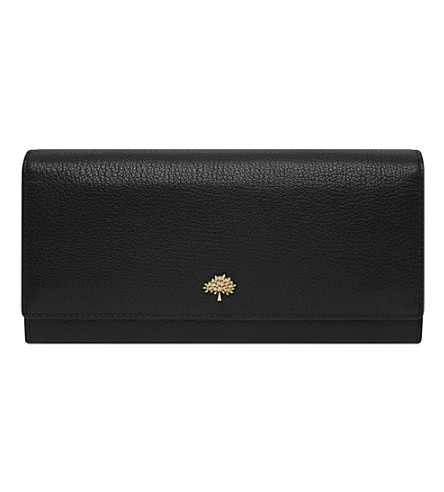 MULBERRY Tree Continental wallet (Black