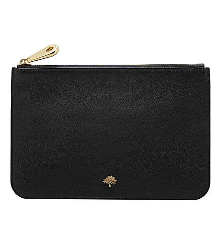 MULBERRY Tree pouch (Black