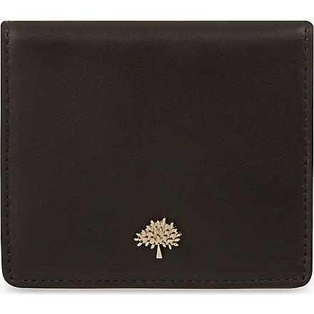 MULBERRY Tree slim card case (Black