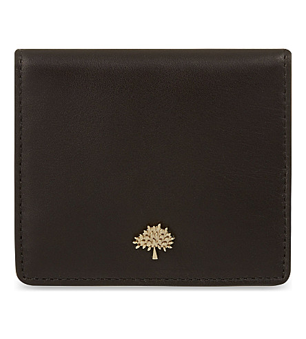 MULBERRY Tree card case (Black