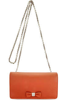 MULBERRY Soft leather bow clutch wallet