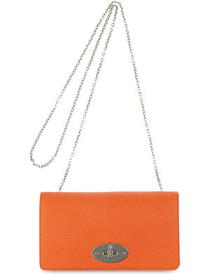 MULBERRY Bayswater leather clutch wallet