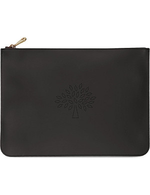 MULBERRY Large Blossom pouch