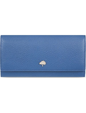 MULBERRY Tree leather continental wallet