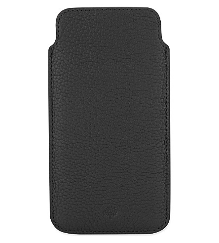 MULBERRY Leather iPhone6 cover (Black