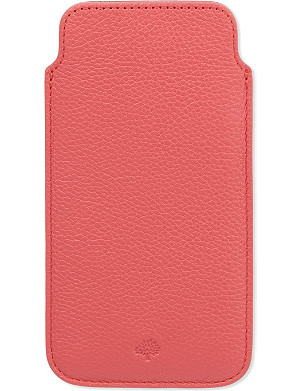 MULBERRY Classic grained leather iPhone 6 cover