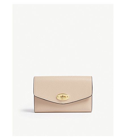 Darley grained leather wallet