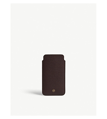 MULBERRY iPhone 7 plus leather cover (Oxblood