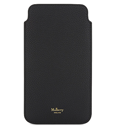 MULBERRY Grained leather iPhone 6 - 7 Plus case (Black