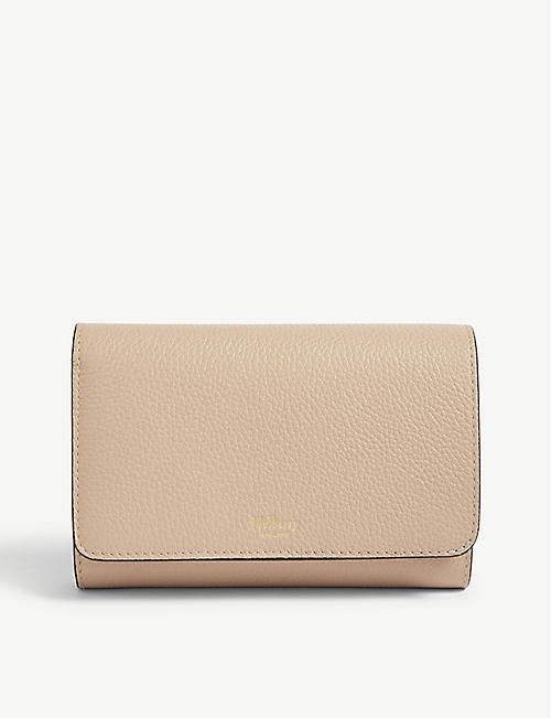 MULBERRY Leather continental wallet. Quick view Wish list bdeb0cd43703b