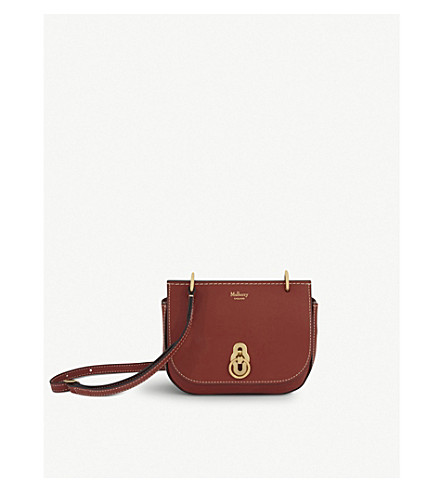 MULBERRY Amberly leather cross-body bag (Rust