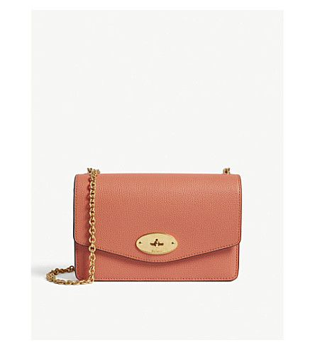 Darley leather wallet-on-chain