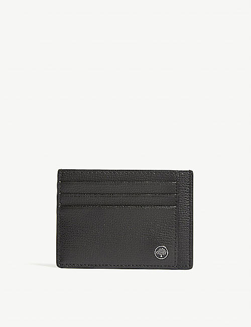 Card holders mens bags selfridges shop online mulberry tree grained leather card holder reheart Images