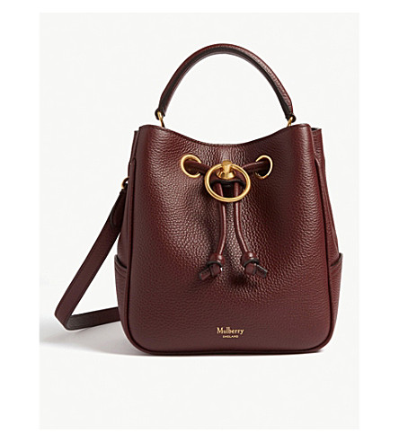 MULBERRY - Hampstead leather small bucket bag   Selfridges.com 653fe0fe36
