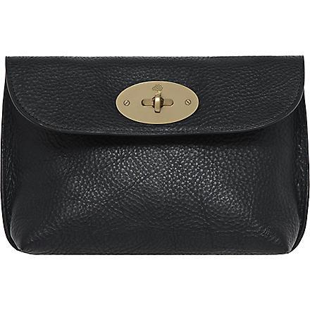 MULBERRY Locked cosmetic purse (Black