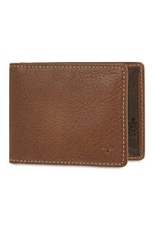MULBERRY Natural leather travel card holder
