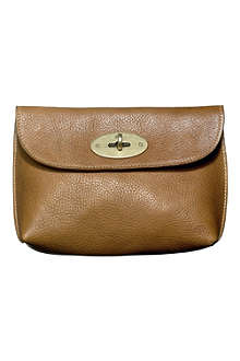MULBERRY Locked leather cosmetic purse
