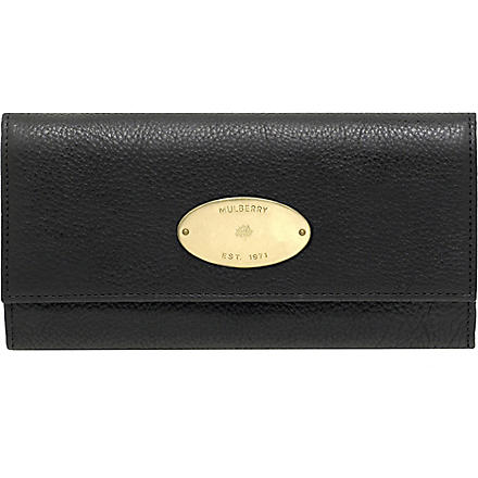 MULBERRY Darwin leather wallet (Black