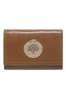 MULBERRY Daria French leather purse