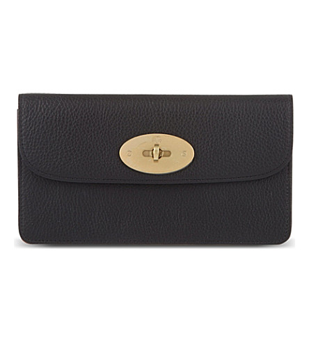 MULBERRY Long Locked purse (Black