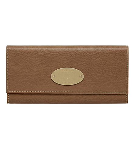 MULBERRY Continental wallet (Oak