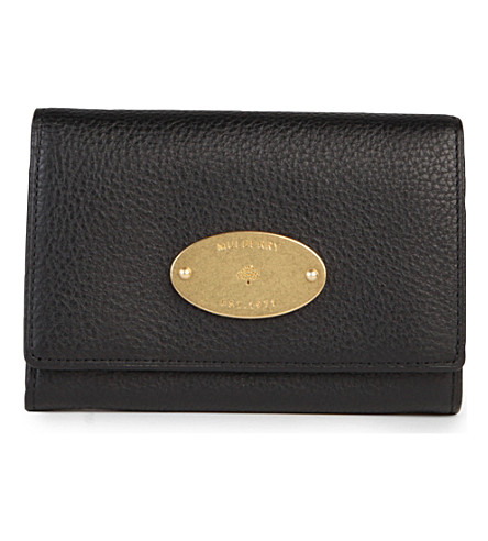 MULBERRY French purse (Black