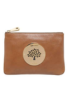 MULBERRY Daria leather pouch