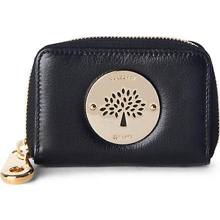 MULBERRY Daria zip–around purse (Black