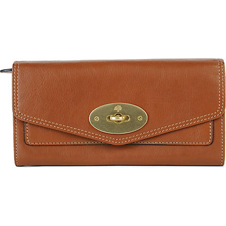 MULBERRY Postman's Lock wallet (Oak
