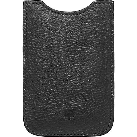 MULBERRY iPhone cover (Black