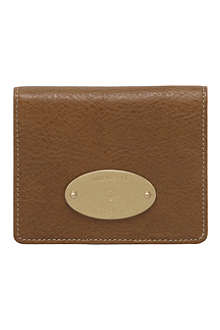 MULBERRY Natural leather ID purse