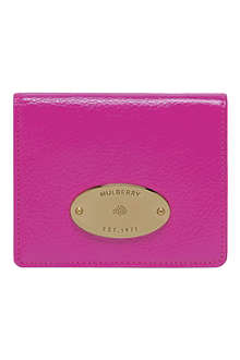 MULBERRY Leather ID purse