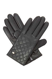 MULBERRY Nappa quilted glove