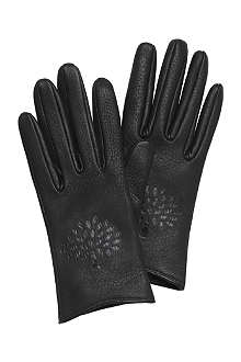 MULBERRY Effie leather gloves