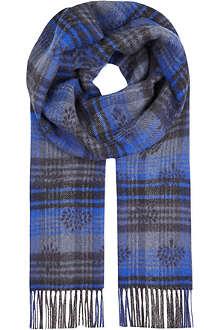 MULBERRY Jacquard logo scarf